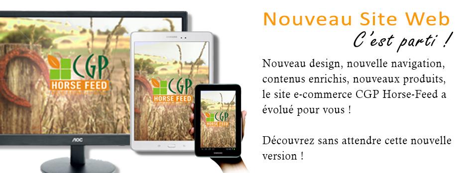 Nouveau site CGP Horse Feed
