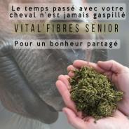 Aliment VIEUX CHEVAL pour lui permettre de s'alimenter avec des fibres de FOIN, VITAL'FIBRES SENIOR
