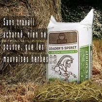 Foin Enrubanné, SANS POUSSIERE, pour chevaux atteint de pathologies respiratoires,  LEADER SPIRIT SPECIAL