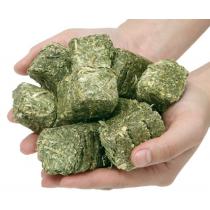 Cubes de Foin Compressé WAFER FIBRES LIGHT Aliment sans céréales, pour que le fourrage reste le principal apport de la ration du cheval